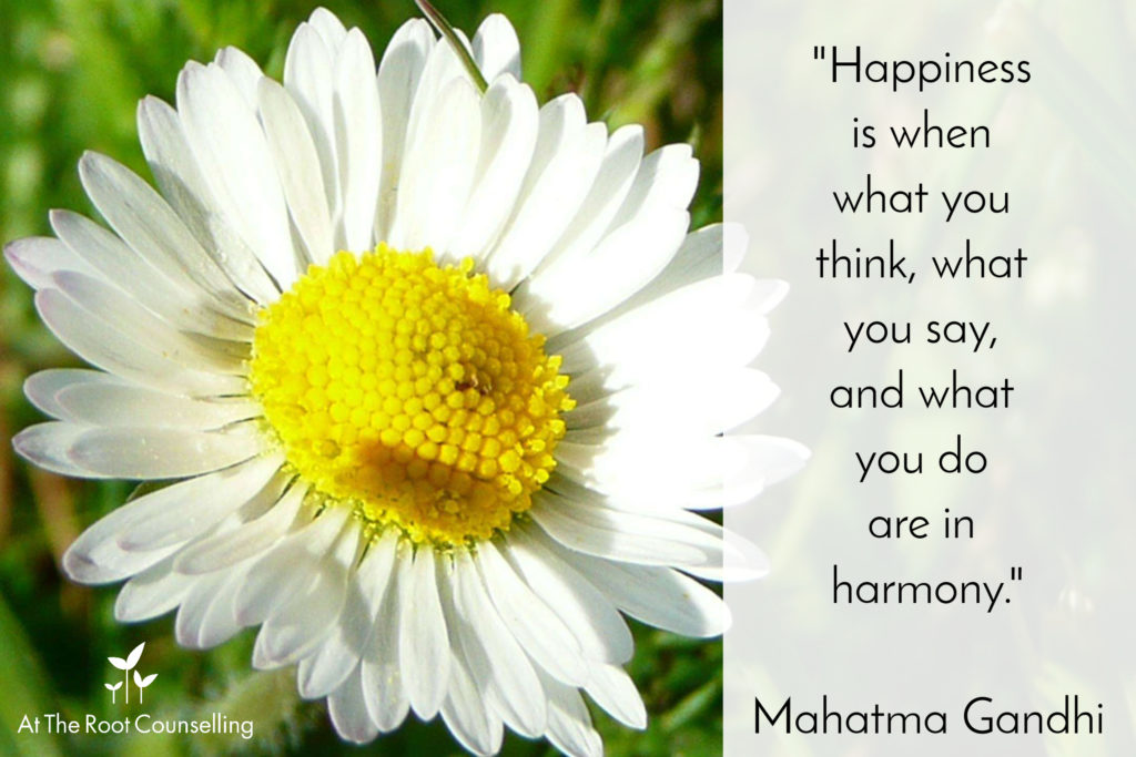 Seeds of Thought: Quotes on Spirituality | At The Root Counselling_Mahatma Ghandi